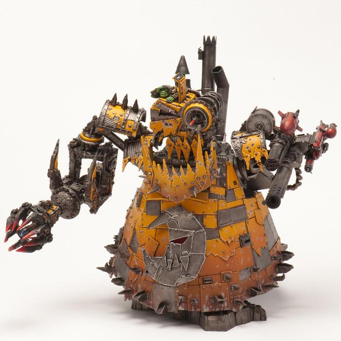 Stompa Or Mega Dread For Golden Demon ?