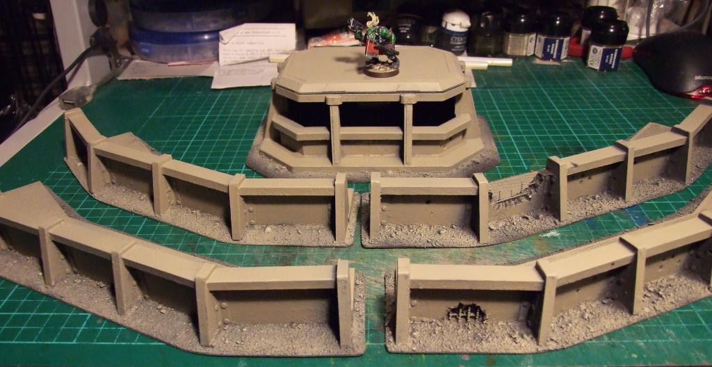 Battleground Hobbies: How to Build a Bunker for Warhammer 40k Terrain